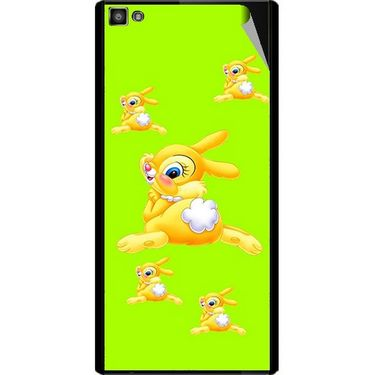 Snooky 47106 Digital Print Mobile Skin Sticker For Xolo Hive 8X-1000 - Green
