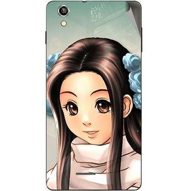 Snooky 47382 Digital Print Mobile Skin Sticker For Xolo A1010 - Multicolour
