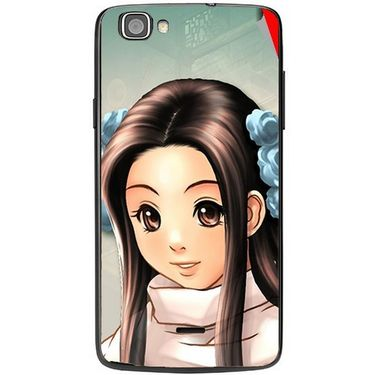 Snooky 47478 Digital Print Mobile Skin Sticker For Xolo One - Multicolour