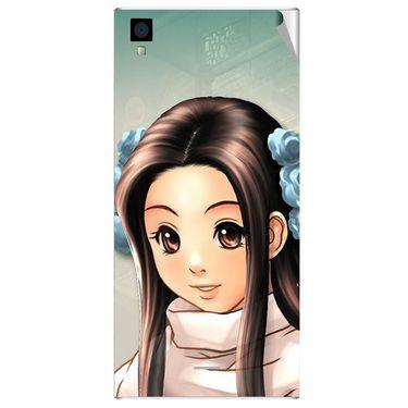 Snooky 47542 Digital Print Mobile Skin Sticker For Xolo Q600s - Multicolour