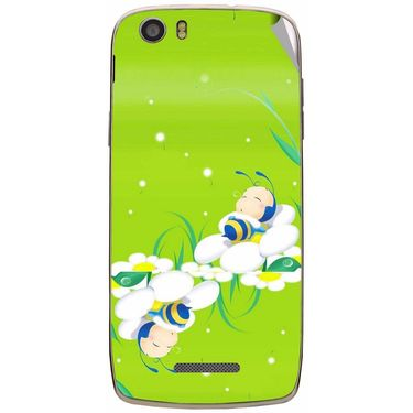 Snooky 47642 Digital Print Mobile Skin Sticker For Xolo Q700s - Green
