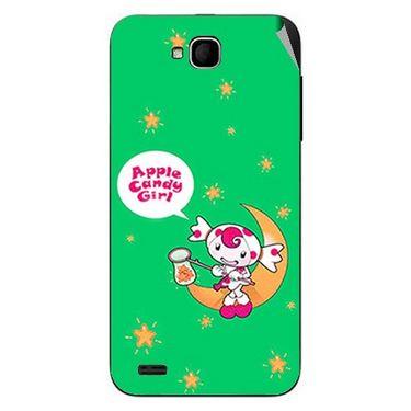 Snooky 47671 Digital Print Mobile Skin Sticker For Xolo Q800 - Green