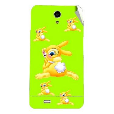 Snooky 47714 Digital Print Mobile Skin Sticker For Xolo Q900 - Green