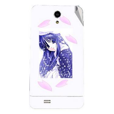 Snooky 47726 Digital Print Mobile Skin Sticker For Xolo Q900 - White
