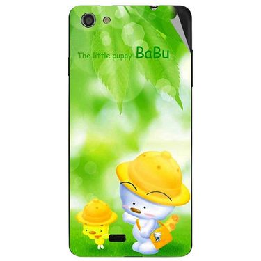 Snooky 47737 Digital Print Mobile Skin Sticker For Xolo Q900S - Green
