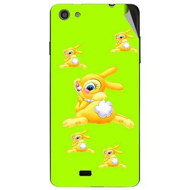 Snooky 47746 Digital Print Mobile Skin Sticker For Xolo Q900S - Green