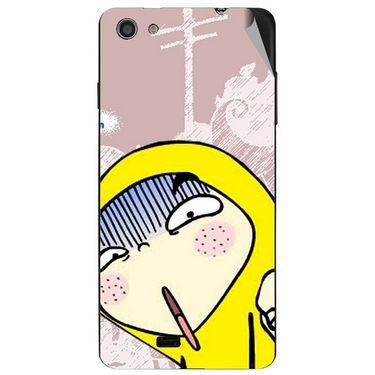 Snooky 47760 Digital Print Mobile Skin Sticker For Xolo Q900S - Multicolour
