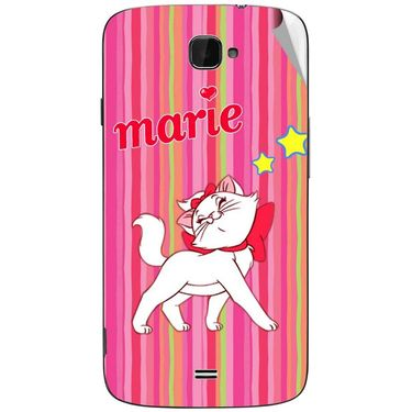 Snooky 47808 Digital Print Mobile Skin Sticker For Xolo Q1000 Opus - Pink
