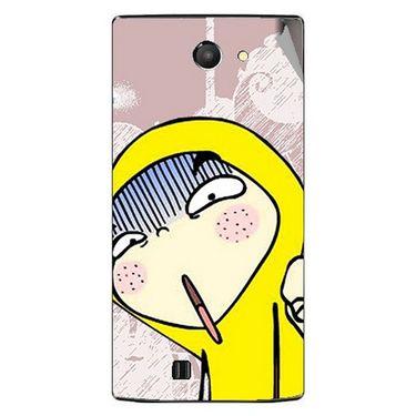 Snooky 48463 Digital Print Mobile Skin Sticker For Lava Iris 456 - Multicolour