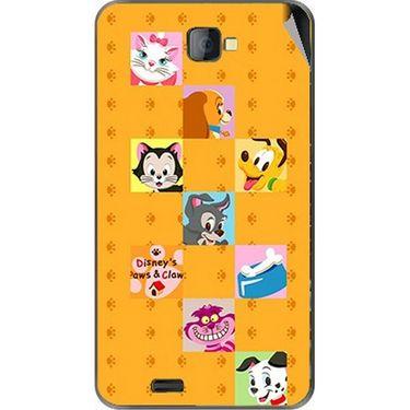 Snooky 48478 Digital Print Mobile Skin Sticker For Lava Iris 502 - Yellow