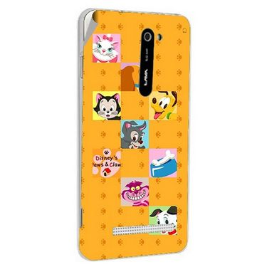 Snooky 48510 Digital Print Mobile Skin Sticker For Lava Iris 503 - Yellow