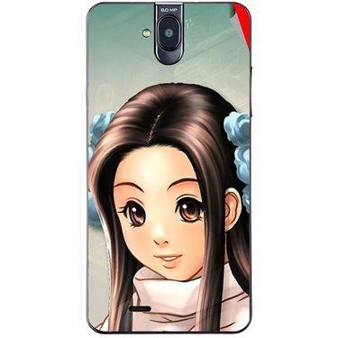 Snooky 48693 Digital Print Mobile Skin Sticker For Lava Iris 550Q - Multicolour