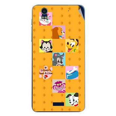 Snooky 48766 Digital Print Mobile Skin Sticker For Lava Iris Pro 20 - Yellow