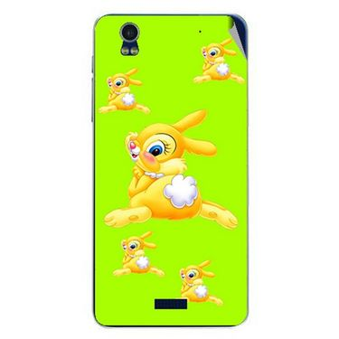 Snooky 48769 Digital Print Mobile Skin Sticker For Lava Iris Pro 20 - Green