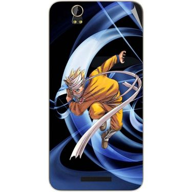 Snooky 48797 Digital Print Mobile Skin Sticker For Lava Iris X1 - Blue