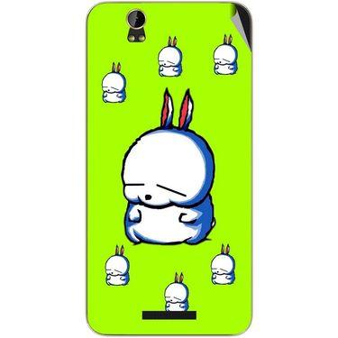 Snooky 48860 Digital Print Mobile Skin Sticker For Lava Iris X1 Grand - Green