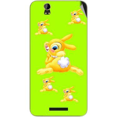 Snooky 48865 Digital Print Mobile Skin Sticker For Lava Iris X1 Grand - Green