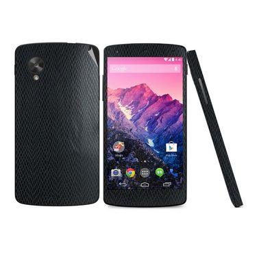 Snooky 18316 Mobile Skin Sticker For Lg Google Nexus 5 - Black