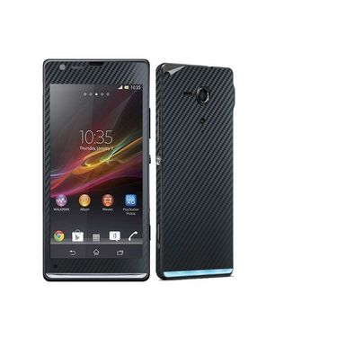 Snooky 18325 Mobile Skin Sticker For Sony Xperia Sp M35h C5302 - Black