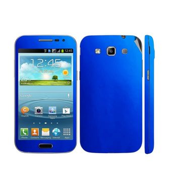Snooky 20469 Mobile Skin Sticker For Samsung Galaxy Grand Quattro 8552 - Blue