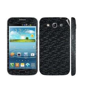 Snooky 20525 Mobile Skin Sticker For Samsung Galaxy Grand Quattro 8552 - Black