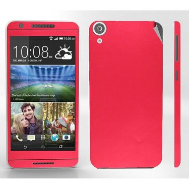 Snooky 20556 Mobile Skin Sticker For Htc Desire 820 - Red