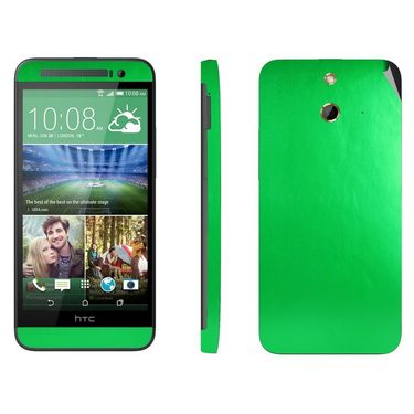 Snooky 20575 Mobile Skin Sticker For HTC One E8 - Green