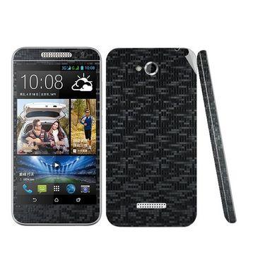 Snooky 20677 Mobile Skin Sticker For HTC Desire 616 - Black