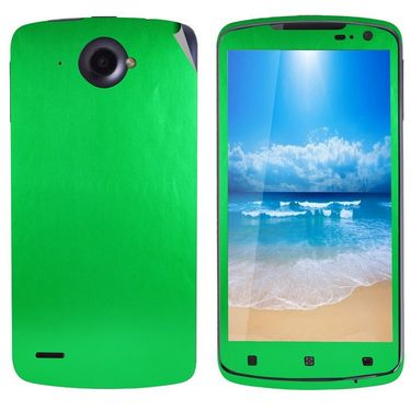Snooky 20699 Mobile Skin Sticker For Lenovo S920 - Green