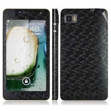Snooky 20701 Mobile Skin Sticker For Lenovo K860 - Black
