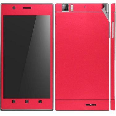 Snooky 20704 Mobile Skin Sticker For Lenovo K900 - Red