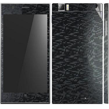 Snooky 20705 Mobile Skin Sticker For Lenovo K900 - Black