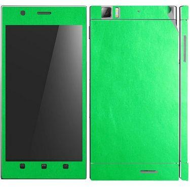 Snooky 20707 Mobile Skin Sticker For Lenovo K900 - Green