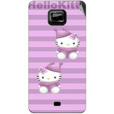 Snooky 42491 Digital Print Mobile Skin Sticker For Micromax Ninja A91 - Pink