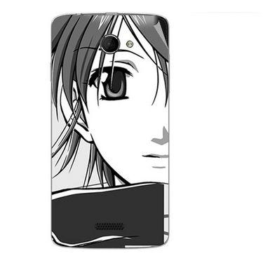 Snooky 42681 Digital Print Mobile Skin Sticker For Micromax Canvas Elanza 2 A121 - Grey