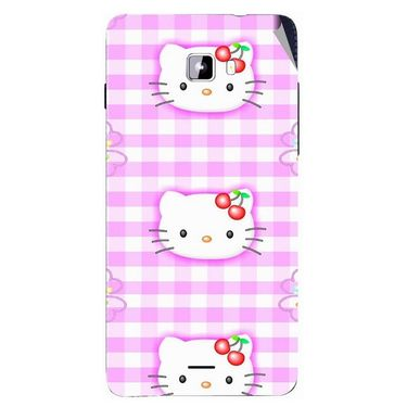 Snooky 42767 Digital Print Mobile Skin Sticker For Micromax Canvas Nitro A311 - Pink