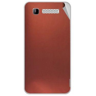 Snooky 43151 Mobile Skin Sticker For Intex Aqua 3g - Copper