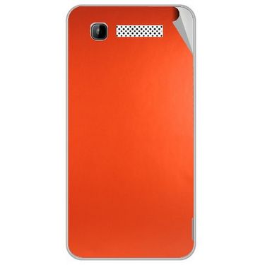 Snooky 43154 Mobile Skin Sticker For Intex Aqua 3g - Orange
