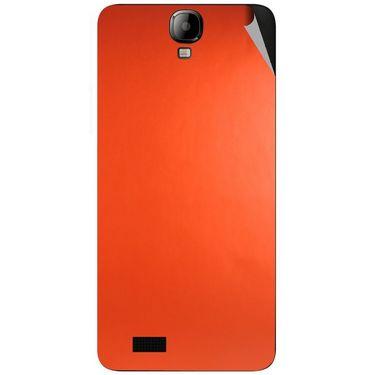 Snooky 43178 Mobile Skin Sticker For Intex Aqua Amaze - Orange