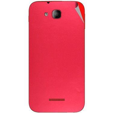 Snooky 43186 Mobile Skin Sticker For Intex Aqua CURVE - Red