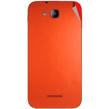 Snooky 43190 Mobile Skin Sticker For Intex Aqua CURVE - Orange