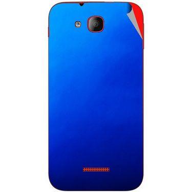 Snooky 43196 Mobile Skin Sticker For Intex Aqua CURVE Mini - Blue