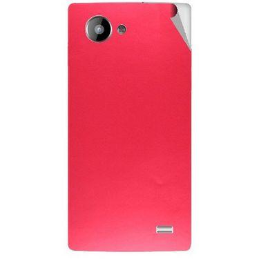 Snooky 43222 Mobile Skin Sticker For Intex Aqua HD - Red