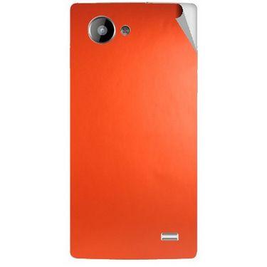Snooky 43226 Mobile Skin Sticker For Intex Aqua HD - Orange