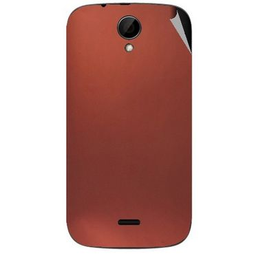 Snooky 43235 Mobile Skin Sticker For Intex Aqua i3 - Copper