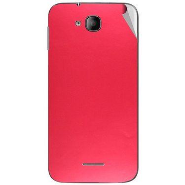 Snooky 43246 Mobile Skin Sticker For Intex Aqua i4 - Red