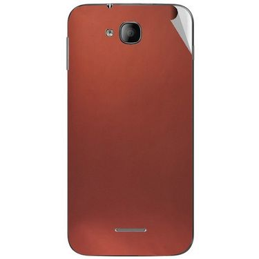 Snooky 43247 Mobile Skin Sticker For Intex Aqua i4 - Copper