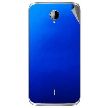Snooky 43280 Mobile Skin Sticker For Intex Aqua i14 - Blue