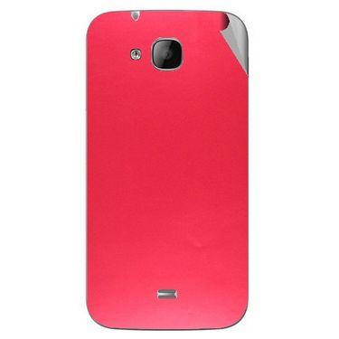 Snooky 43318 Mobile Skin Sticker For Intex Aqua N2 - Red