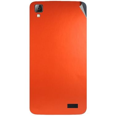 Snooky 43346 Mobile Skin Sticker For Intex Aqua N7 - Orange